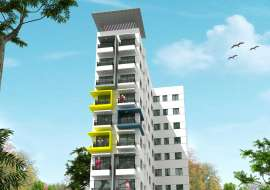 1300 sqft, 3 Beds Under Construction Apartment/Flats for Sale at Basabo Apartment/Flats at