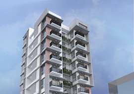 2020 sft single unit apt @ A Block Apartment/Flats at Bashundhara R/A, Dhaka