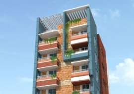1561 Sft. South face Single Unit Apt. @ Uttara, Dhaka, Bangladesh. Apartment/Flats at
