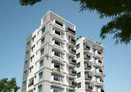 1310 sft 3 bed Apartment with Gas connection. Apartment/Flats at Bashundhara R/A, Dhaka