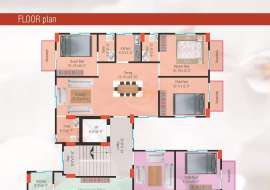 850 sqft, 2 Beds Under Construction Apartment/Flats for Sale at Aftab Nagar Apartment/Flats at
