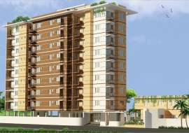 1295sft 4Bed Apt. Khilgaon Block-B South Point School  Apartment/Flats at