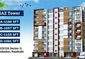 1180 sqft, 3 Beds Under Construction Flats for Sale at Uposahar Apartment/Flats at