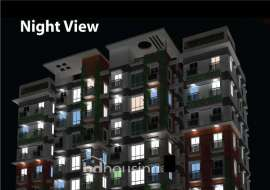 1675 sqft, 3 Beds Under Construction Flats for Sale at Bashundhara R/A Apartment/Flats at