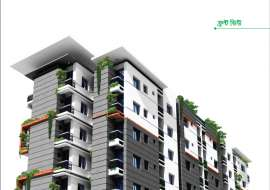 1255 sqft, 3 Beds Under Construction Flats for Sale at Kazipara Apartment/Flats at