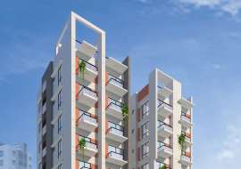 1490 sqft, 3 Beds Under Construction Flats for Sale at Bashundhara R/A Apartment/Flats at