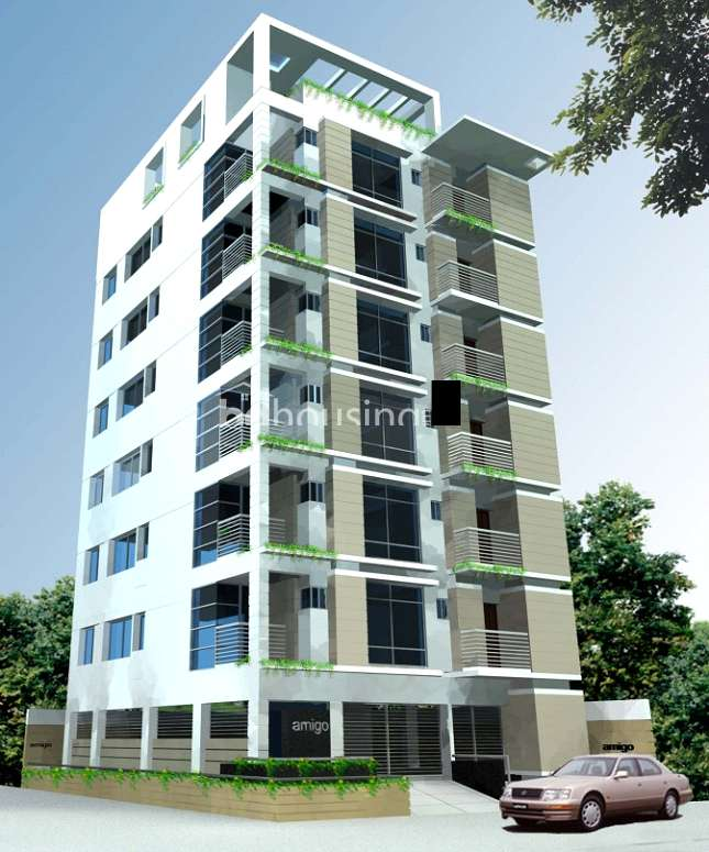 1500 sqft, 3 Beds Ready Apartment/Flats for Sale at Mirpur 1